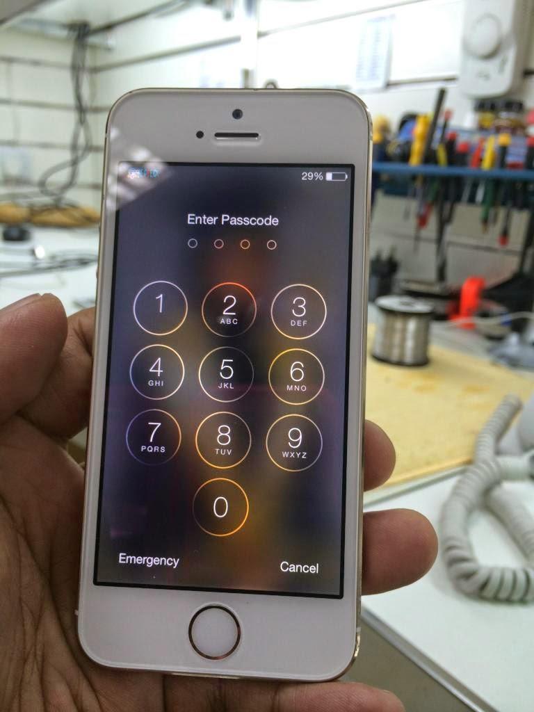 Sửa iphone mất đèn màn hình